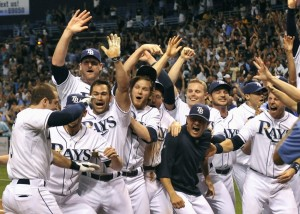 If all goes to plan, the Rays should be doing this in September.