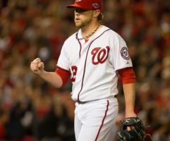 Drew Storen has had a major bounceback season this year, pitching dominantly.